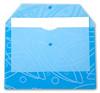 Конверт на кнопке Бюрократ Galaxy -GA801BLUE/1 A4 с рисунком