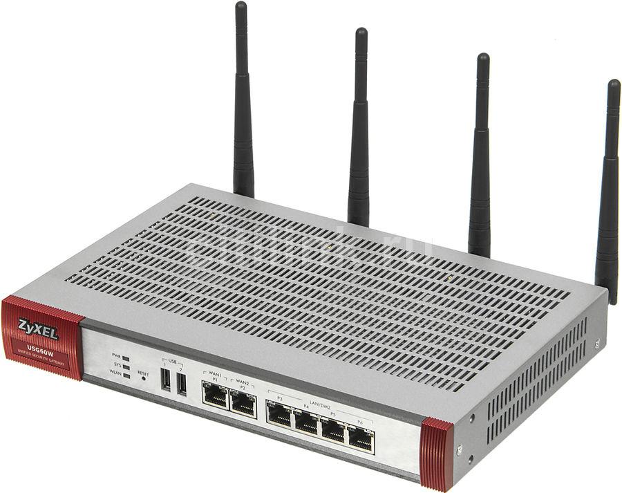 Сетевой экран ZYXEL USG60W [usg60w-ru0101f]