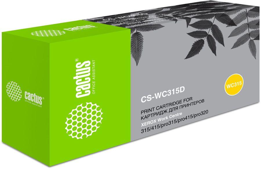Двойная упаковка картриджей CACTUS CS-WC315D черный