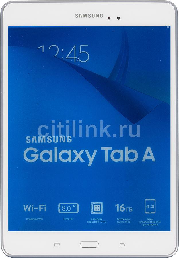 Планшет SAMSUNG Galaxy Tab A SM-T350,  1.5Гб, 16GB, Android 5.0 белый [sm-t350nzwaser]