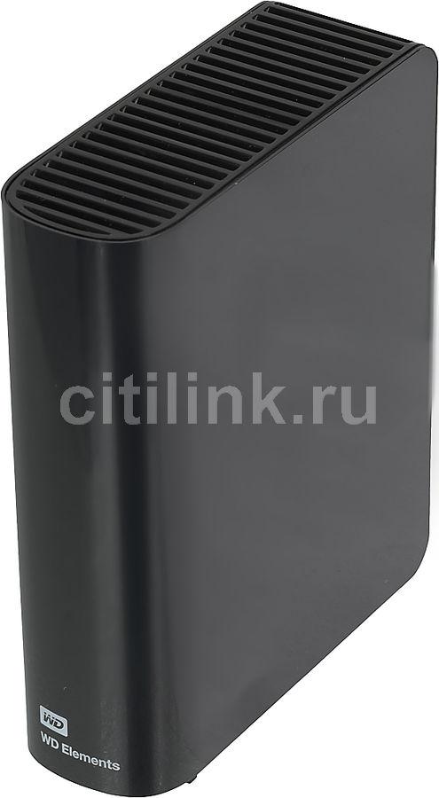 Внешний жесткий диск WD Elements Desktop WDBWLG0040HBK-EESN, 4Тб, черный