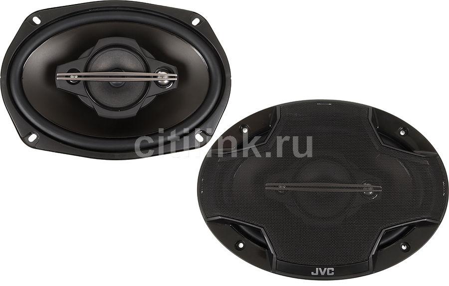 Колонки автомобильные JVC CS-HX6949,  коаксиальные,  600Вт
