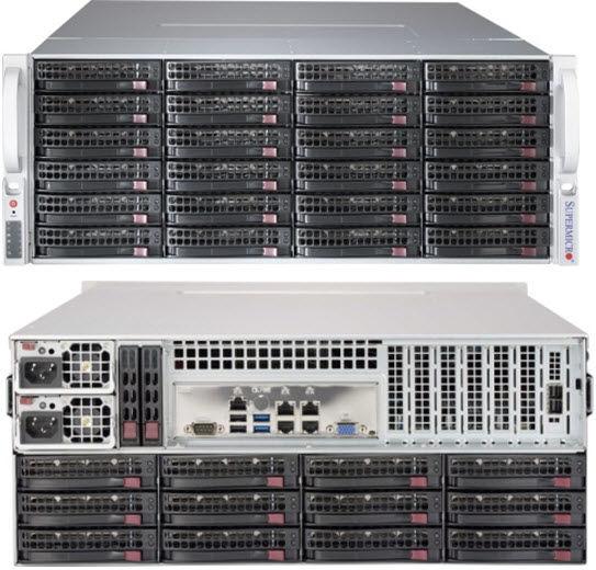 Корпус SuperMicro CSE-847BE1C-R1K28LPB 2x1280W черный
