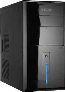 Компьютер  IRU Corp City,  Intel  Core i3  3210,  DDR3 4Гб, 500Гб,  Intel HD Graphics 2500,  без ODD,  Free DOS,  черный [289688]