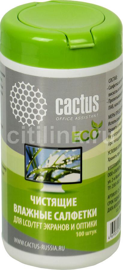 Влажные салфетки CACTUS CS-T1001E