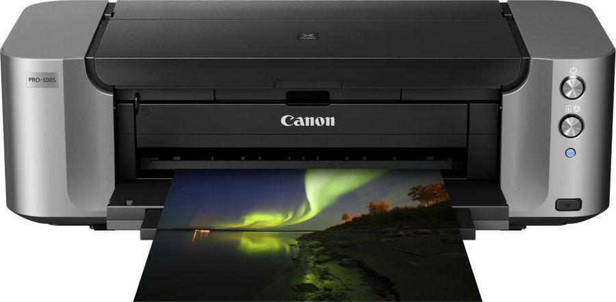 Принтер струйный CANON PIXMA PRO-100S,  струйный, цвет: серый [9984b009]