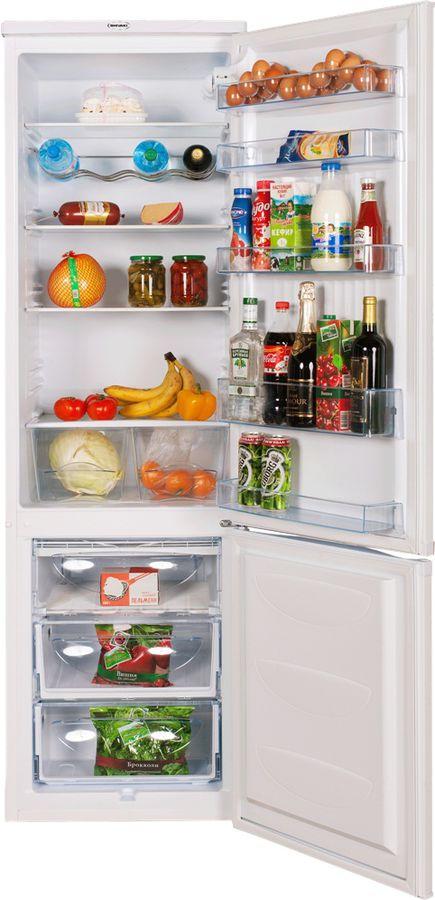 Холодильник SHIVAKI SHRF-365DW,  двухкамерный,  белый