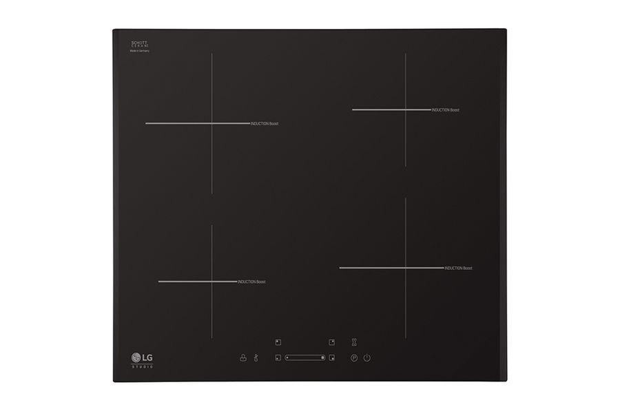 Варочная панель LG KVN6403AF,  индукционная,  независимая,  черный