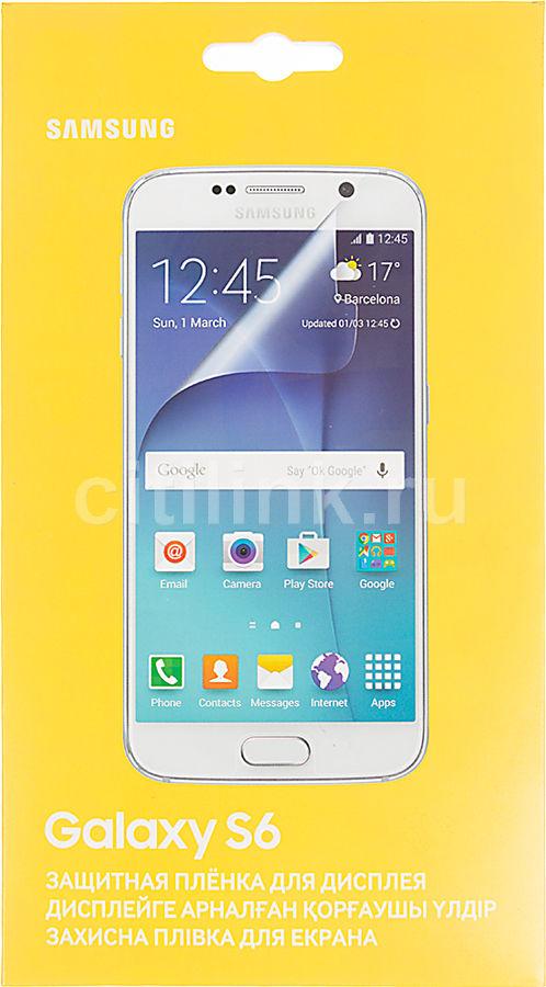 Защитная пленка SAMSUNG ET-FG920CTEGRU  для Samsung Galaxy S6,  прозрачная, 2 шт