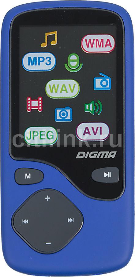MP3 плеер DIGMA Cyber 3 flash 8Гб синий [_]