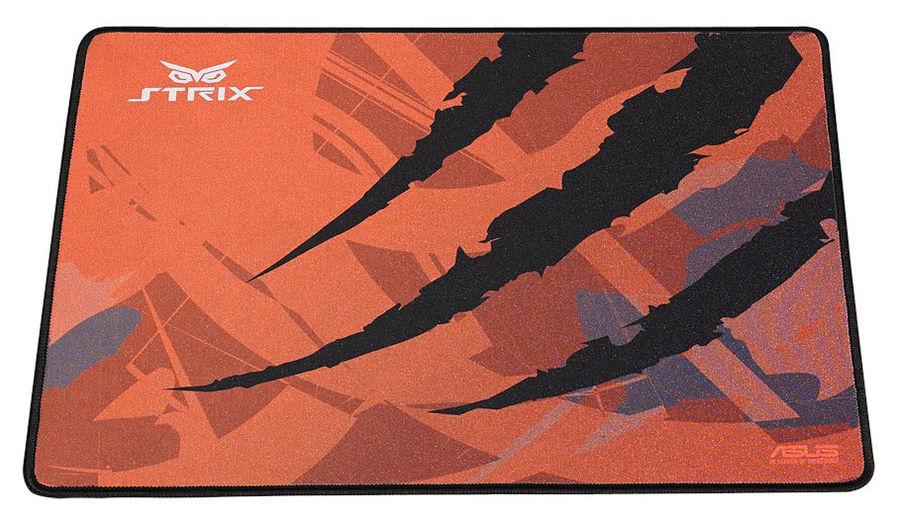 Коврик для мыши ASUS Strix GLIDE SPEED,  оранжевый/черный [90yh00f1-bdua01]