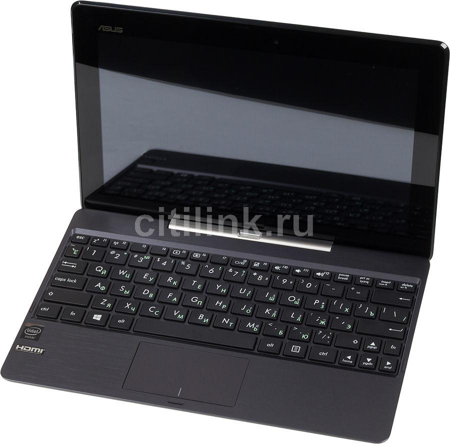 "Ноутбук-трансформер ASUS T100TAF-BING-DK001B, 10.1"",  Intel  Atom  Z3735G 1.33ГГц, 1Гб, 32Гб SSD,  Intel HD Graphics , Windows 8.1, 90NB06N1-M00740,  серый"