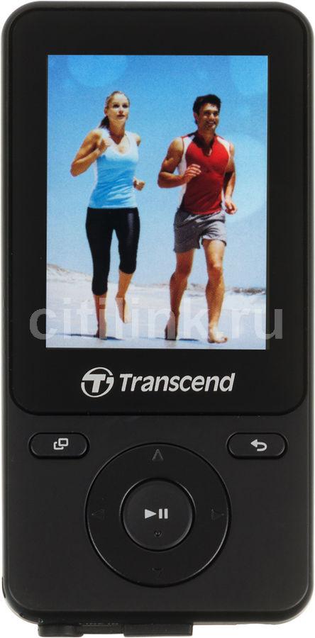 MP3 плеер TRANSCEND MP710 flash 8Гб черный [ts8gmp710k]