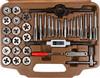 Набор метчиков и плашек OMBRA OMT40S,  40 предметов [55007] вид 2