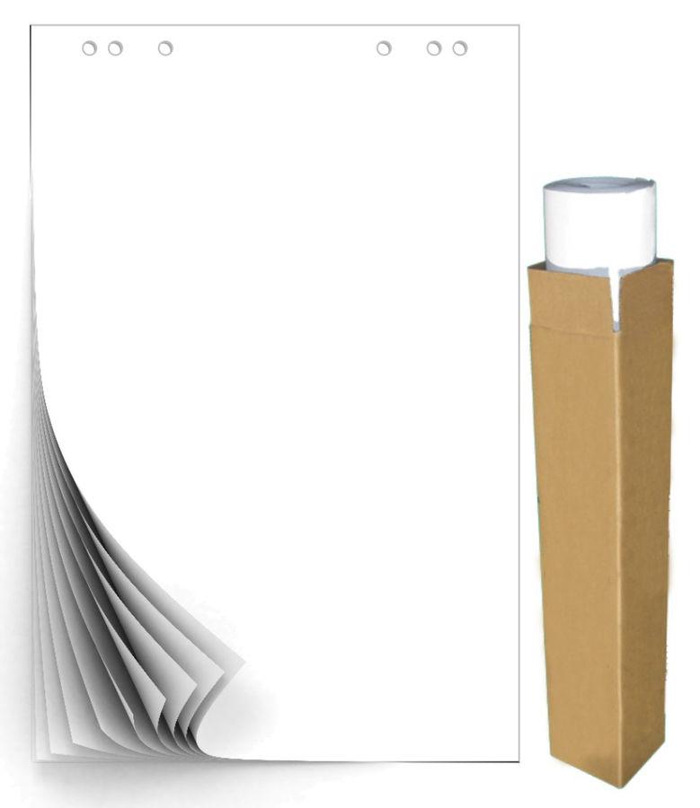 Блок бумаги для флипчартов 275158 белый (упак.:5шт)