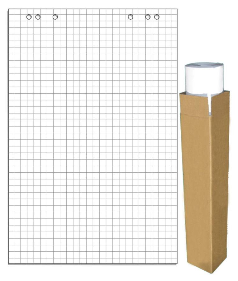 Блок бумаги для флипчартов 275159 клетка (упак.:5шт)