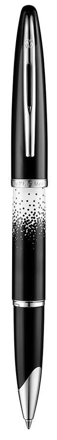Ручка роллер Waterman Carene OMBRES & LUMIERES CT (1929709) F черные чернила подар.кор.
