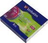 Оптический диск CD-RW VERBATIM 700Мб 12x, 5шт., slim case, разноцветные [43167] вид 1