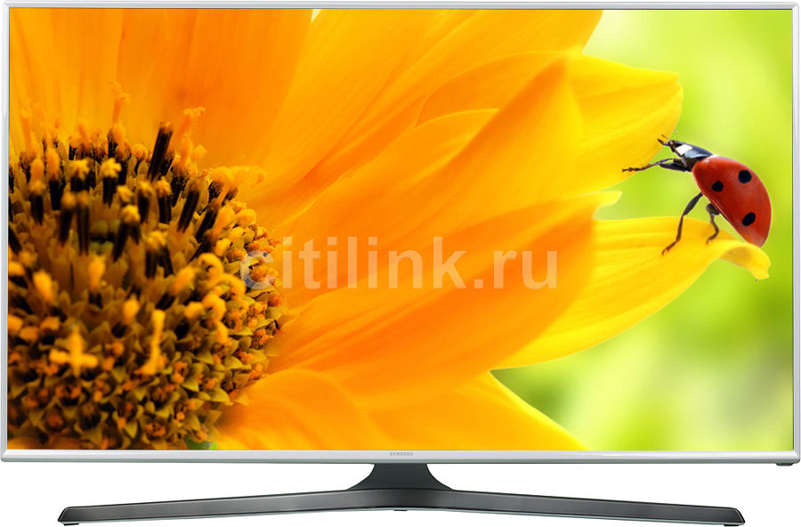 "LED телевизор SAMSUNG UE40J5510AUXRU  ""R"", 40"", FULL HD (1080p),  белый"