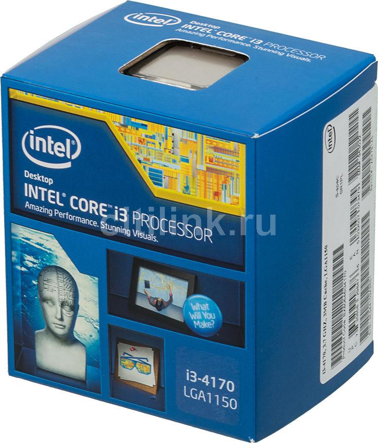 Процессор INTEL Core i3 4170, LGA 1150 BOX [bx80646i34170 s r1pl]