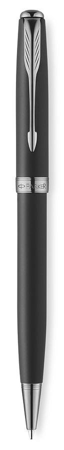 Ручка шариковая Parker Sonnet K533 (1930486) Secret Black Shell M черные чернила подар.кор.