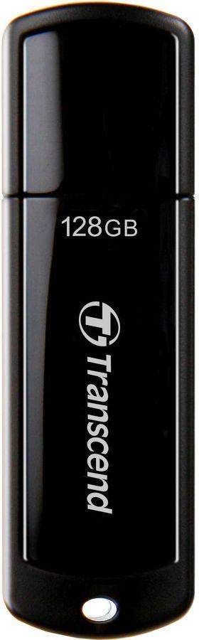 Флешка USB TRANSCEND Jetflash 700 128Гб, USB3.0, черный [ts128gjf700]