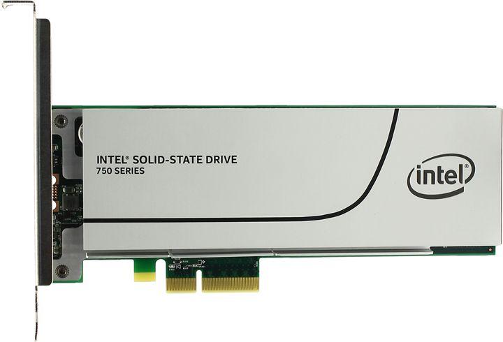 Накопитель SSD INTEL 750 Series SSDPEDMW400G401 400Гб, PCI-E AIC (add-in-card), PCI-E [ssdpedmw400g401 939690]