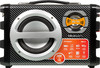 Аудиомагнитола ROLSEN RBM-311,  черный и серебристый вид 2