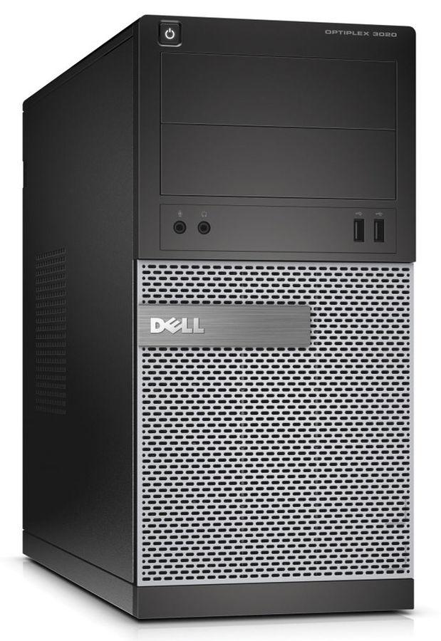 Компьютер  DELL Optiplex 3020,  Intel  Pentium  G3250,  DDR3 4Гб, 500Гб,  Intel HD Graphics,  DVD-RW,  Windows 7 Professional,  черный и серебристый [3020-6811]