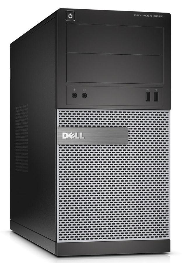 Компьютер  DELL Optiplex 3020,  Intel  Core i3  4160,  DDR3 4Гб, 500Гб,  Intel HD Graphics 4400,  DVD-RW,  Windows 7 Professional,  черный и серебристый [3020-6828]