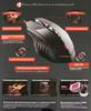 Мышь A4 Bloody T70 Winner, игровая, оптическая, проводная, USB, черный и серый вид 11