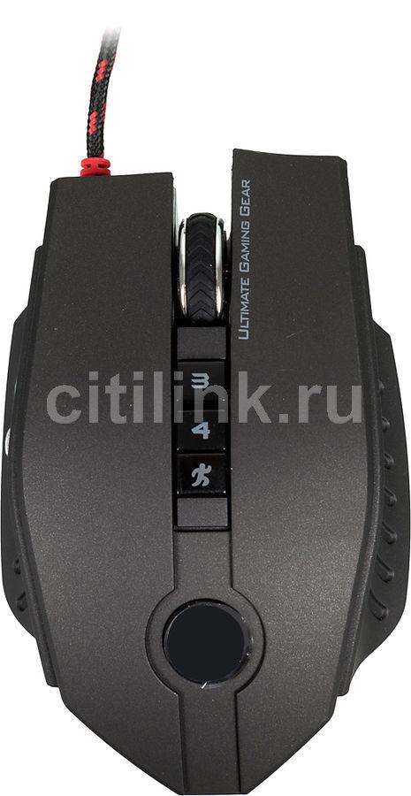 Мышь A4 Bloody ZL50 Sniper черный оптическая (8200dpi) USB2.0 игровая (10but)