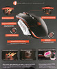 Мышь A4 Bloody TL60 Terminator лазерная проводная USB, черный и серый вид 12