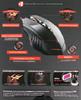 Мышь A4 Bloody TL70 Terminator, игровая, лазерная, проводная, USB, черный и серый вид 12