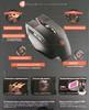 Мышь A4 Bloody Terminator TL90 лазерная проводная USB, черный и серый вид 11
