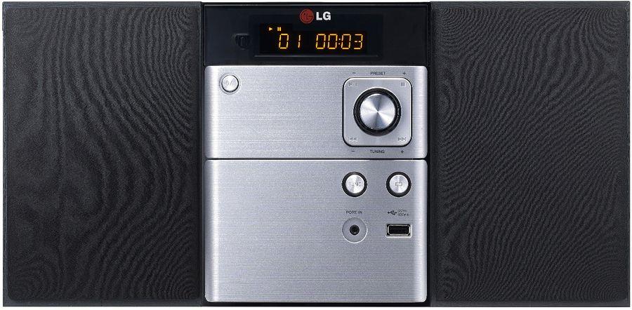 Музыкальный центр LG CM1530BT,  серебристый