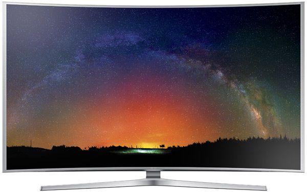 "LED телевизор SAMSUNG UE48JS9000TXRU  ""R"", 48"", 3D,  Ultra HD 4K (2160p),  серебристый"