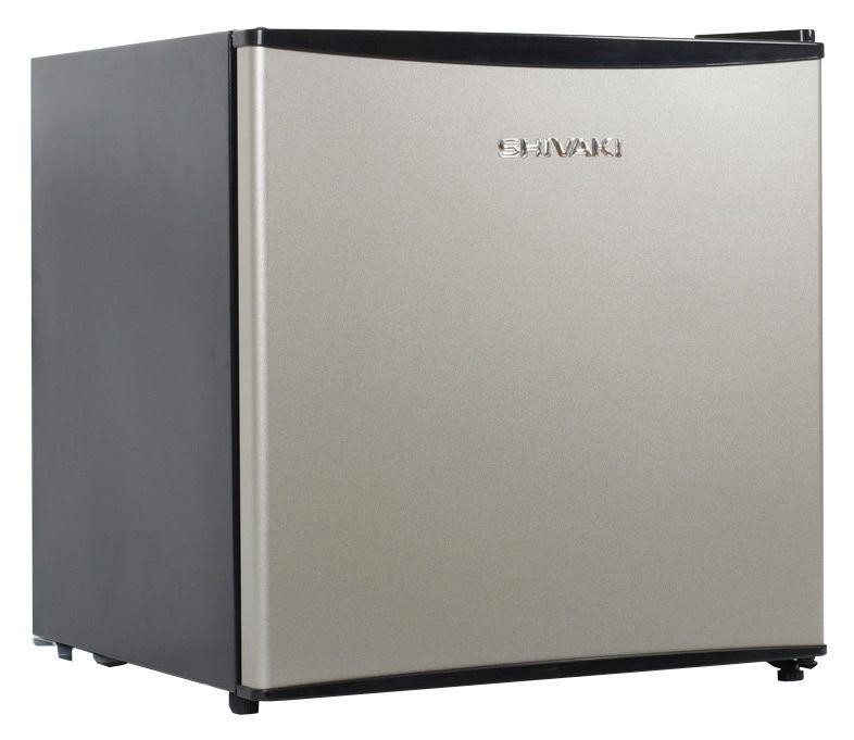 Холодильник SHIVAKI SHRF-54CHS,  однокамерный,  серебристый