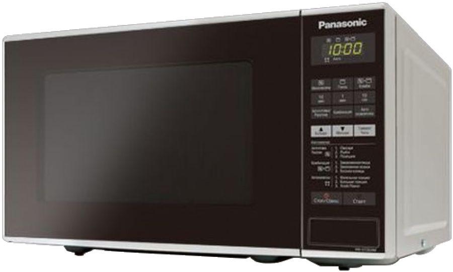 Микроволновая печь PANASONIC NN-GT264MZPE, серебристый