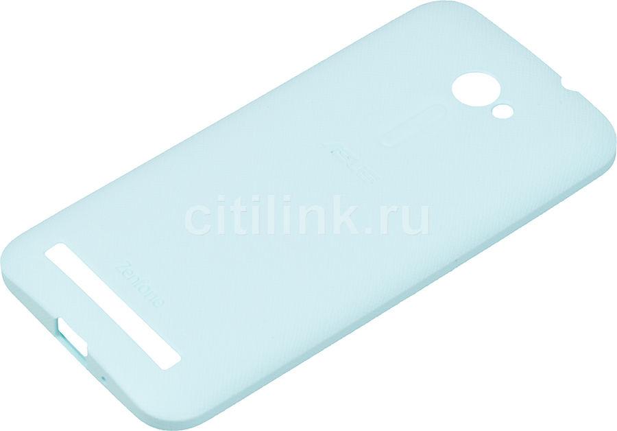 Чехол (клип-кейс) ASUS PF-01, для Asus ZenFone 2 ZE500CL, синий [90xb00ra-bsl2v0]