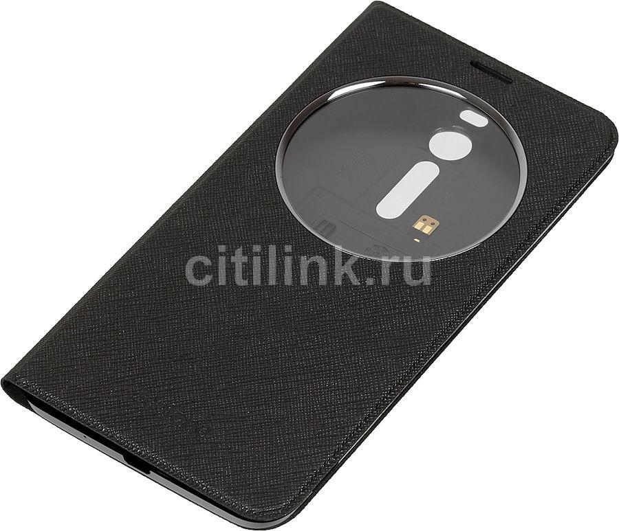 Чехол (флип-кейс) ASUS Delux, для Asus ZenFone ZE551ML, черный [90ac00f0-bcv006]