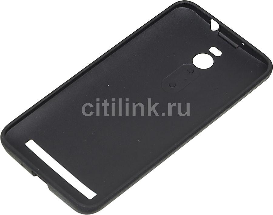 Чехол (клип-кейс) ASUS PF-01, для Asus ZenFone 2 ZE550ML/ZE551ML, черный [90xb00ra-bsl2n0]