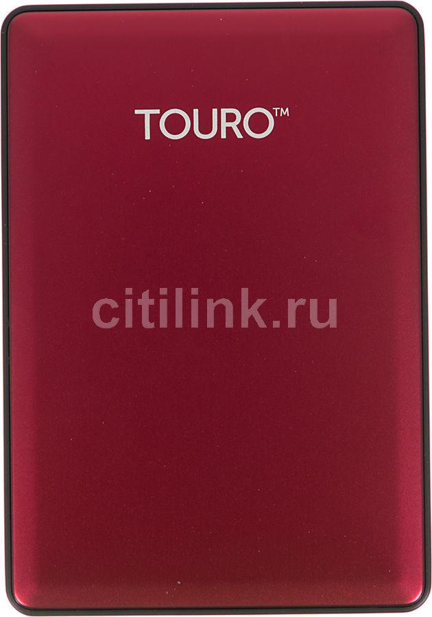 Внешний жесткий диск HGST Touro S HTOSEA10001BCB, 1Тб, красный [0s03779]