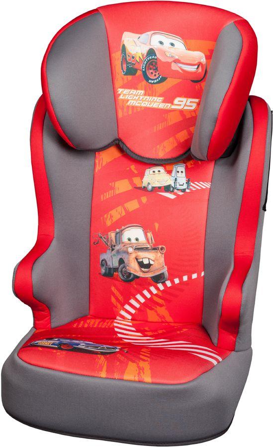 Автокресло детское NANIA Disney Befix SP (cars), 2/3, красный/серый [743185]