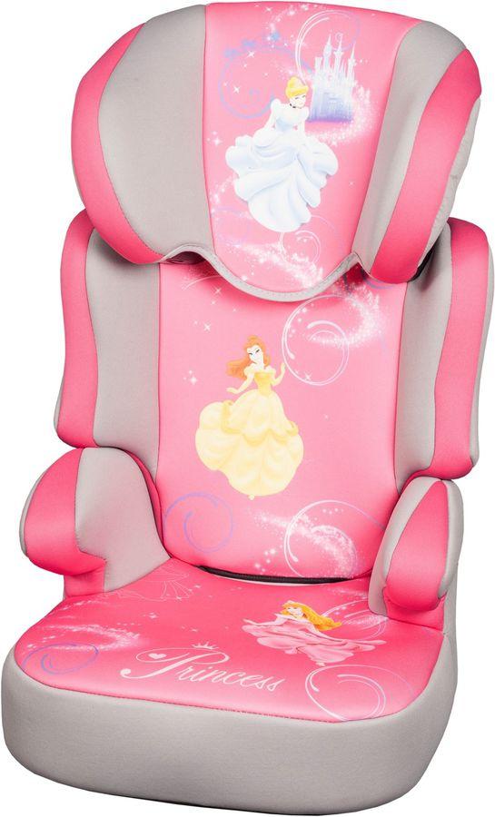 Автокресло детское NANIA Disney Befix SP (princess), 2/3, розовый/серый [743260]