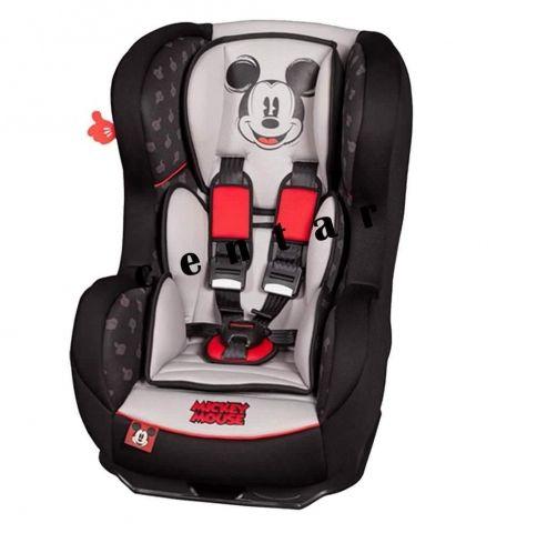 Автокресло детское NANIA Disney Cosmo SP LX (mickey mouse), 0+/1, серый/черный [085720]
