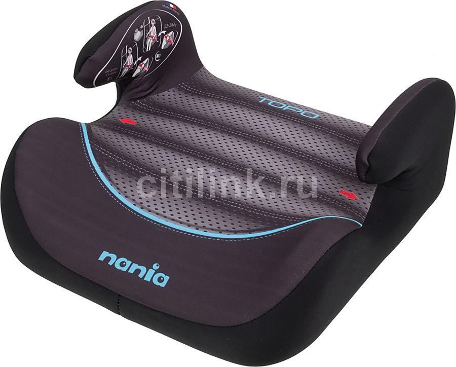 Бустер NANIA Topo Comfort FST (graphic i-tech), 2/3, коричневый/черный [543075]