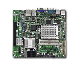 Серверная материнская плата SUPERMICRO MBD-X7SPE-HF-D525-B,  bulk
