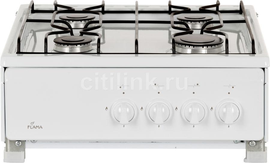 Плита Газовая Flama ANG 1402 W белый эмаль (настольная)