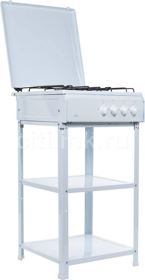 Газовая плита FLAMA AVG 1401 W,  белый